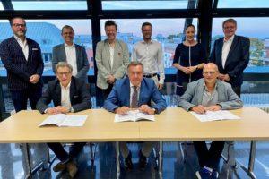 Unterzeichner des Koalitionsvertrages
